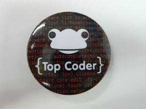 Top coder badge